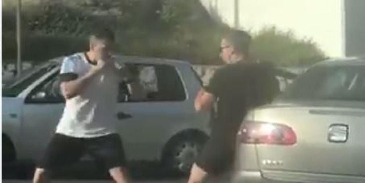 La pelea entre conductores que se ha hecho viral