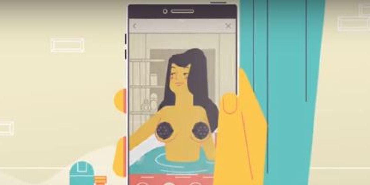 """Trickpics, la app para hacerte fotos eróticas que """"adorna"""" tus partes íntimas"""