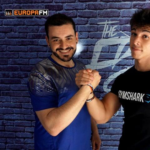 Juanma Romero y Ernest The Fitness Boy siguen con el #retoEuropaFM