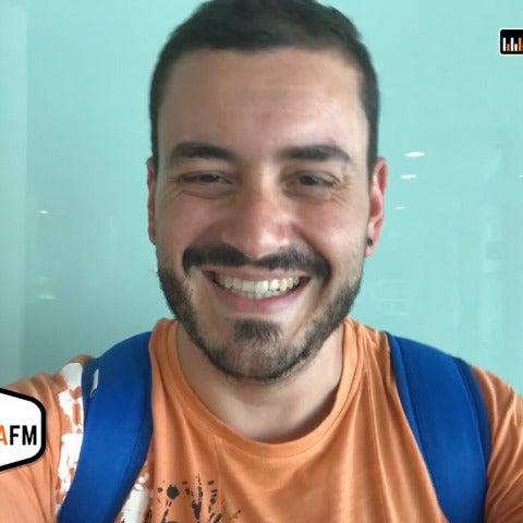 Juanma Romero sigue cumpliendo el #retoEuropaFM