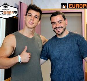 Ernest The Fitness Boy asesora cada semana a Juanma Romero durante el #retoEuropaFM