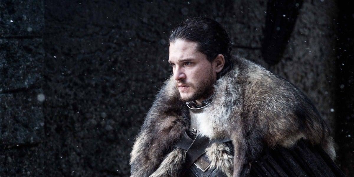 Jon Snow en Juego de Tronos