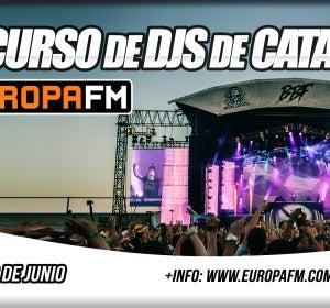 Primer Concurso de DJs de Europa FM Cataluña