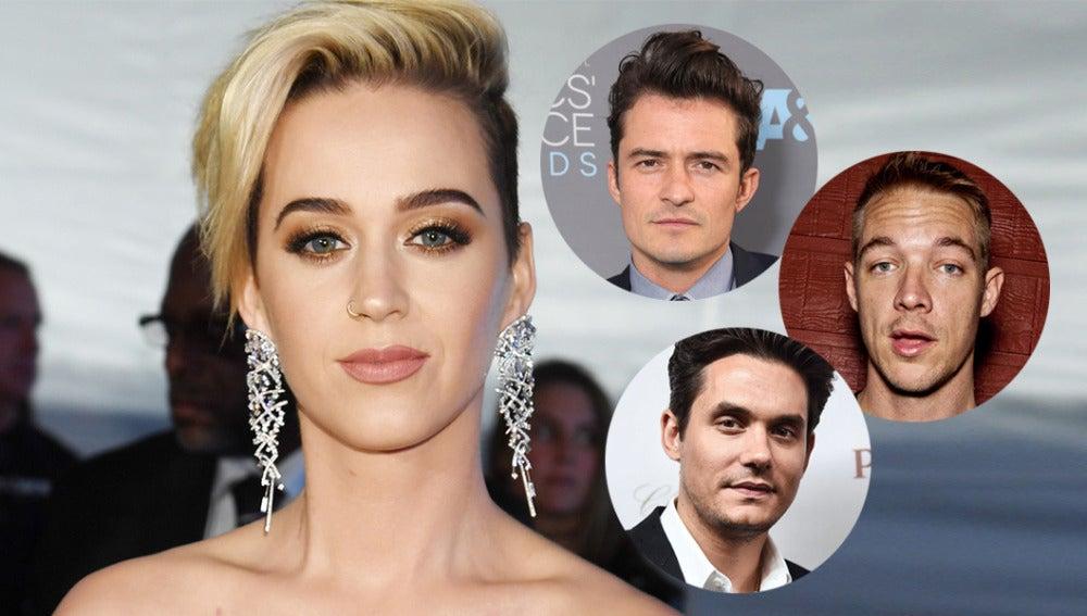 Katy Perry califica sexualmente a sus exs famosos
