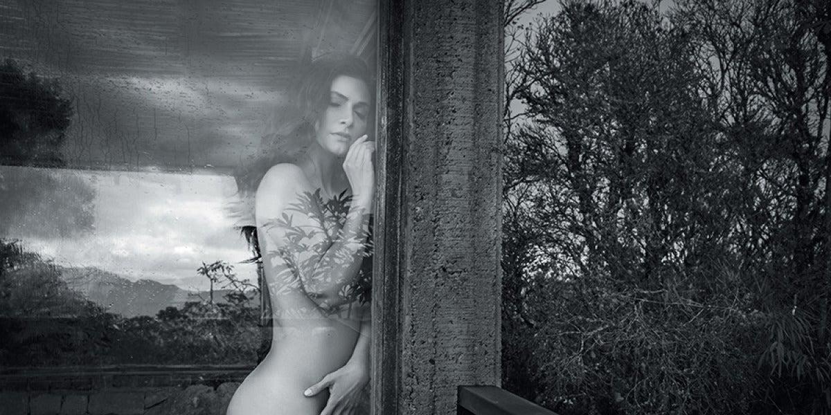Ana María Orozco 'Betty la fea', posa desnuda