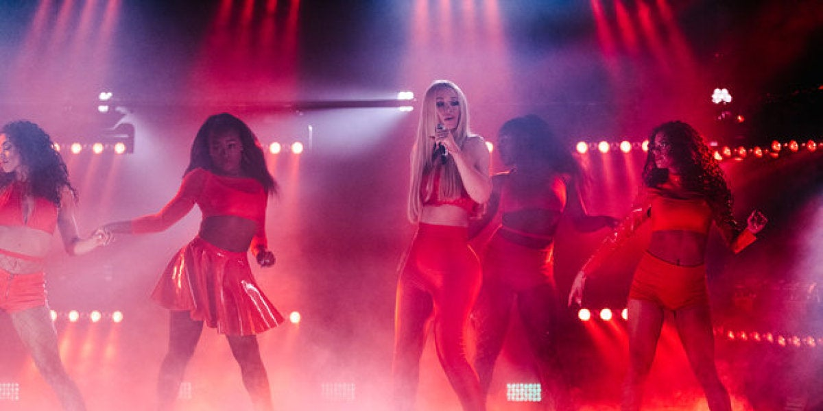 Iggy Azalea en The Late Late Show