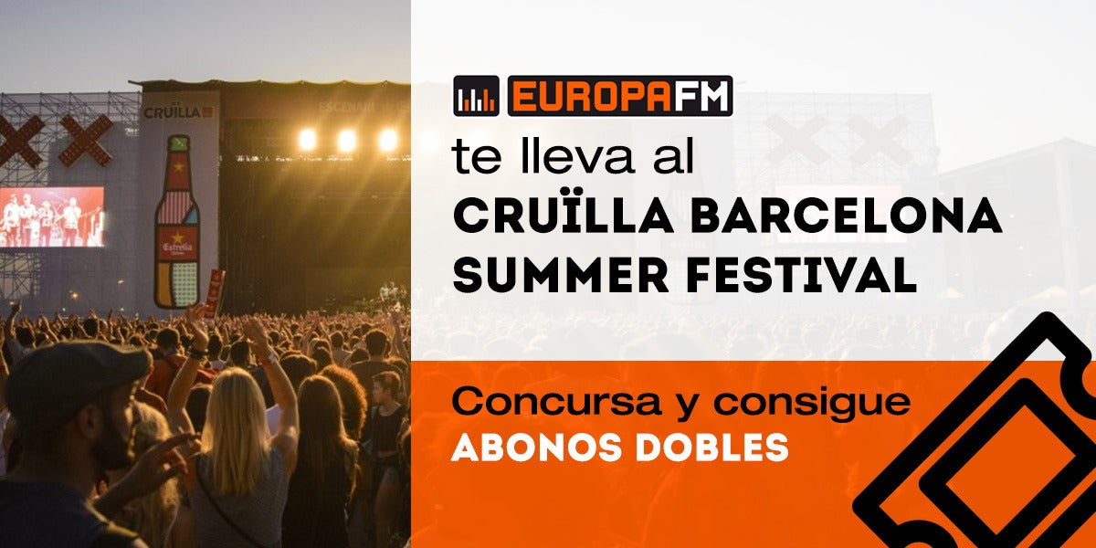 Consigue abonos dobles para Cruïlla Barcelona 2017