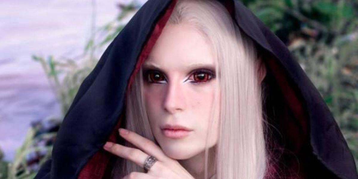 Luis Padrón, el elfo humano
