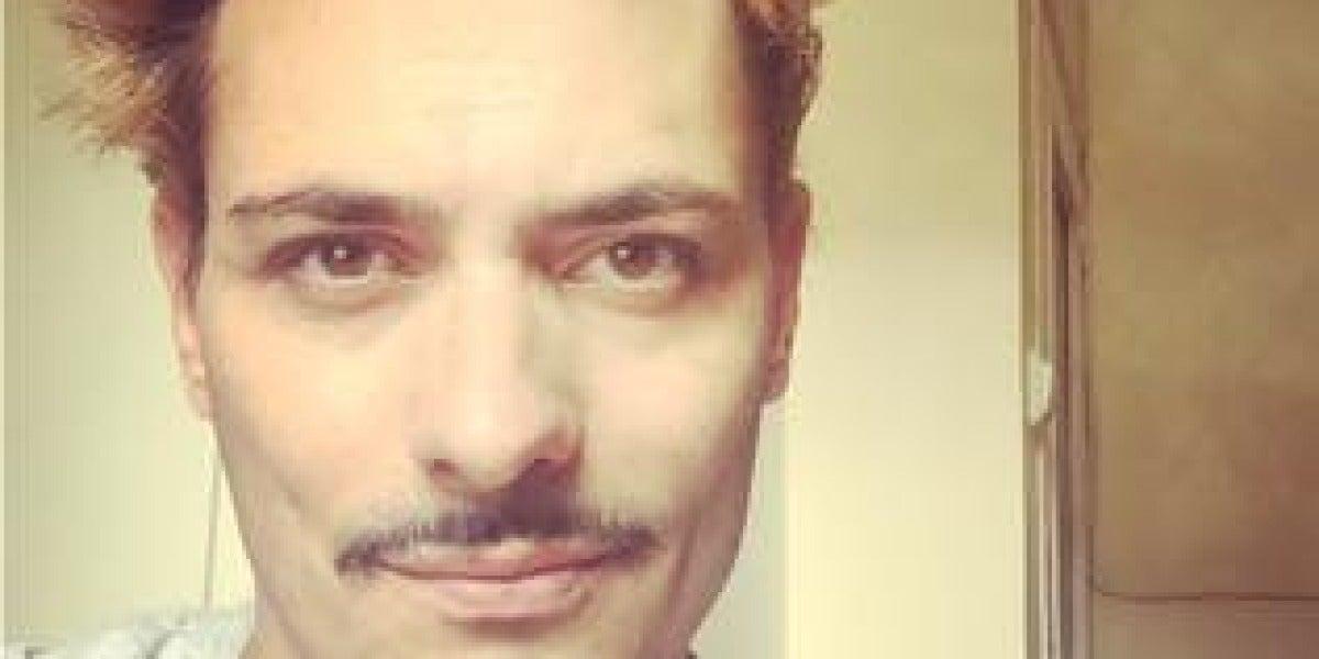 Rafael de Diego, actor callejero