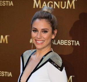 Blanca Suárez durante el evento de Magnum