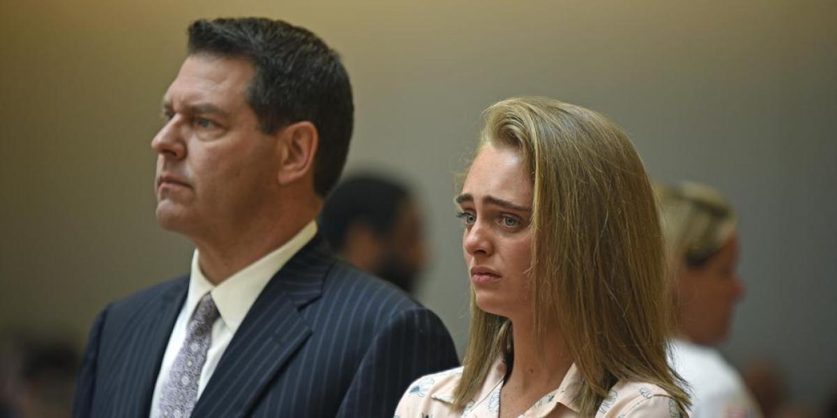 Michelle Carter acusada de homicidio involuntario