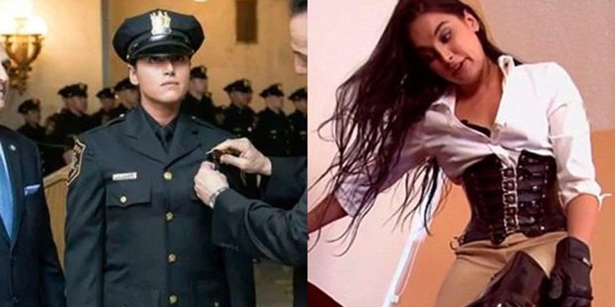 Descubren su pasado de actriz porno y ahora lucha por conservar su trabajo como policía