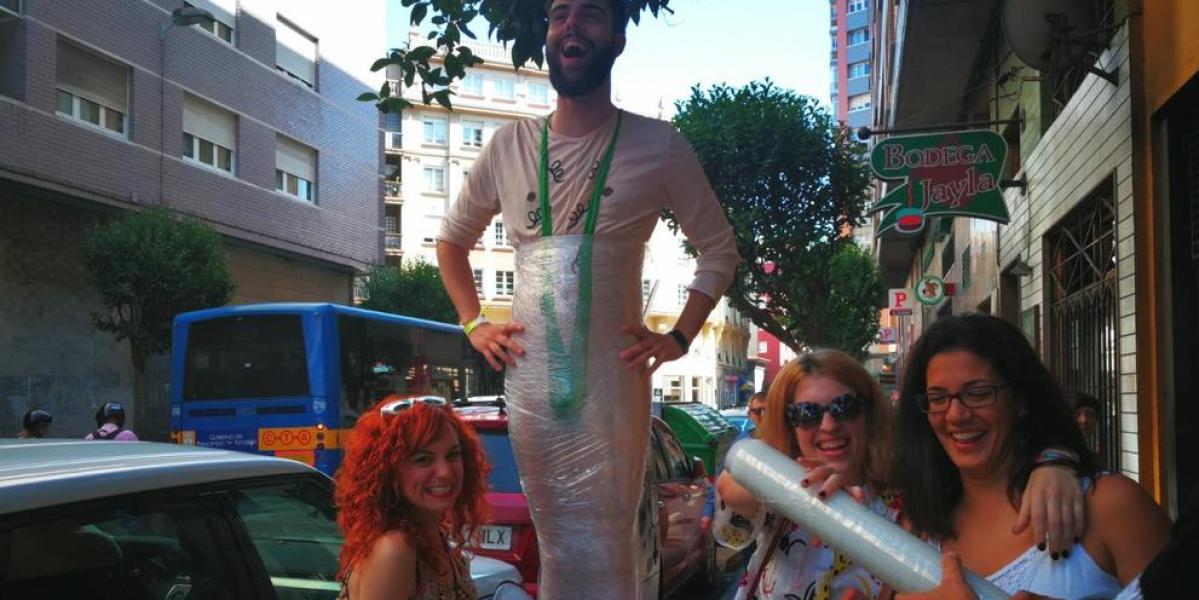 Loca despedida de soltero en Gijón