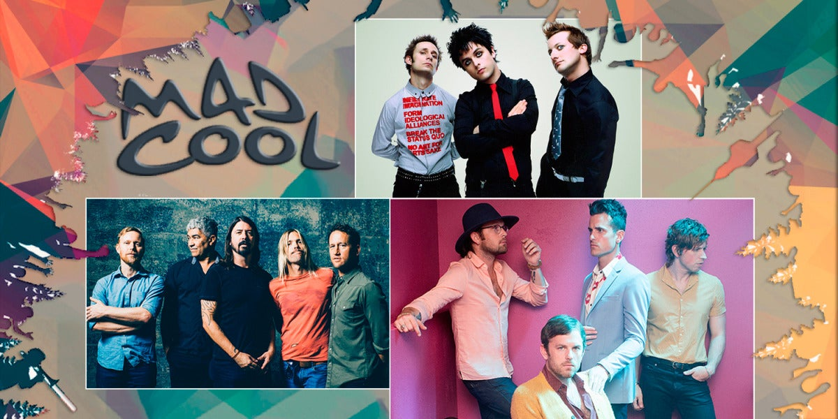 Foo Fighters, Green Day y Kings of Leon, cabezas de cartel del Mad Cool 2017