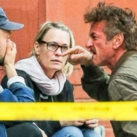 Sean Penn, Robin Wright y Jimmy Giannopoulos