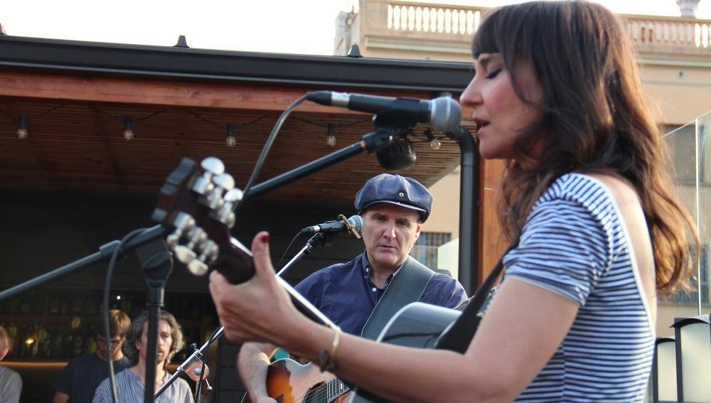 Amaral, en su actuación el Día de la Música