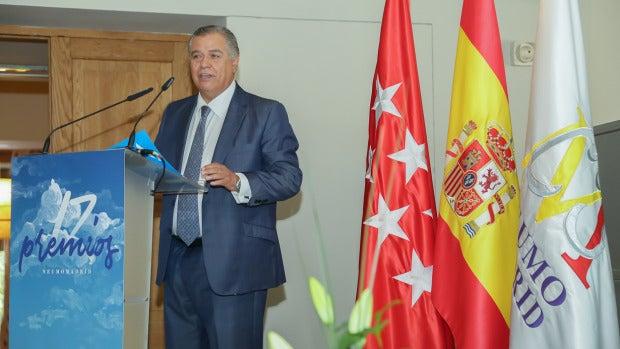Bartolomé Beltrán recogió el premio