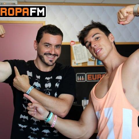Juanma Romero sigue con el #retoEuropaFM gracias al asesoramiento de Ernest The Fitness Boy