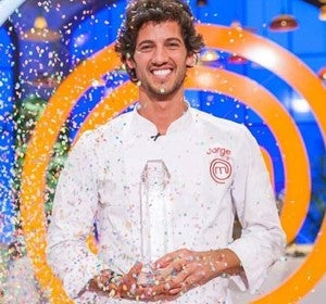 Jorge, ganador de la quinta edición de MasterChef