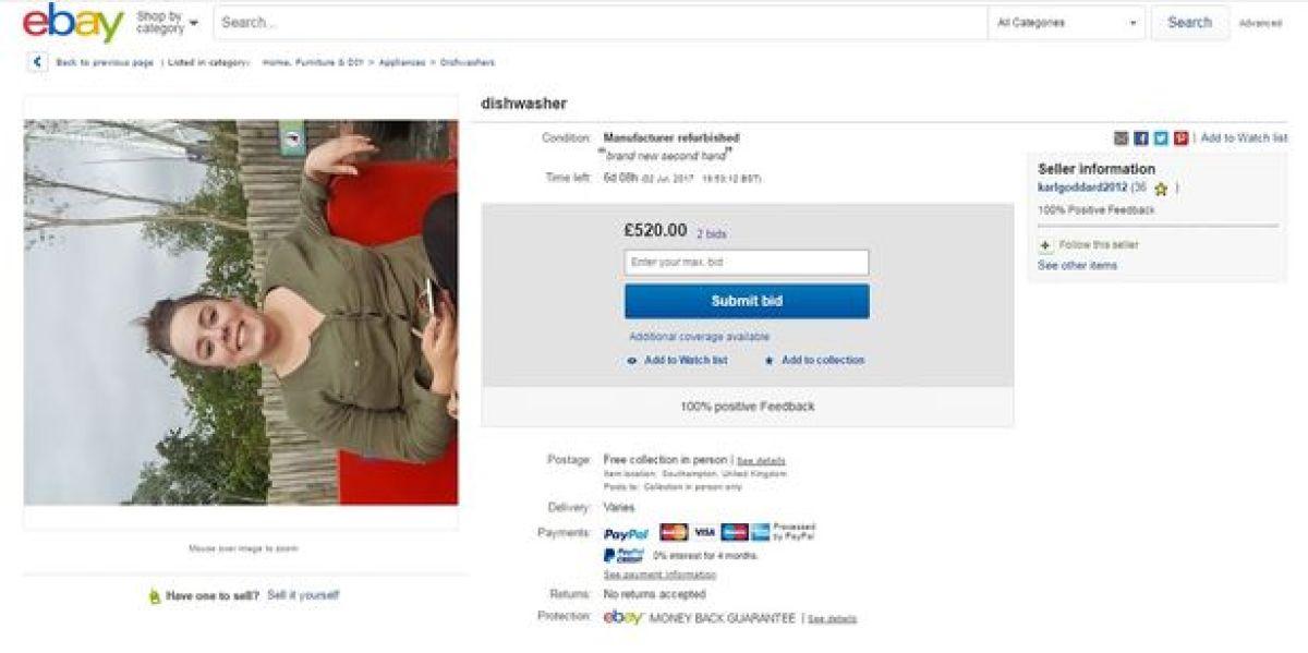 Vende a su novia por eBay
