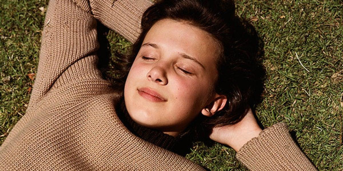 Millie Bobby Brown en el videoclip de 'I Dare You', de The xx