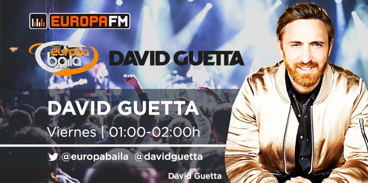 David Guetta en Europa FM 2017