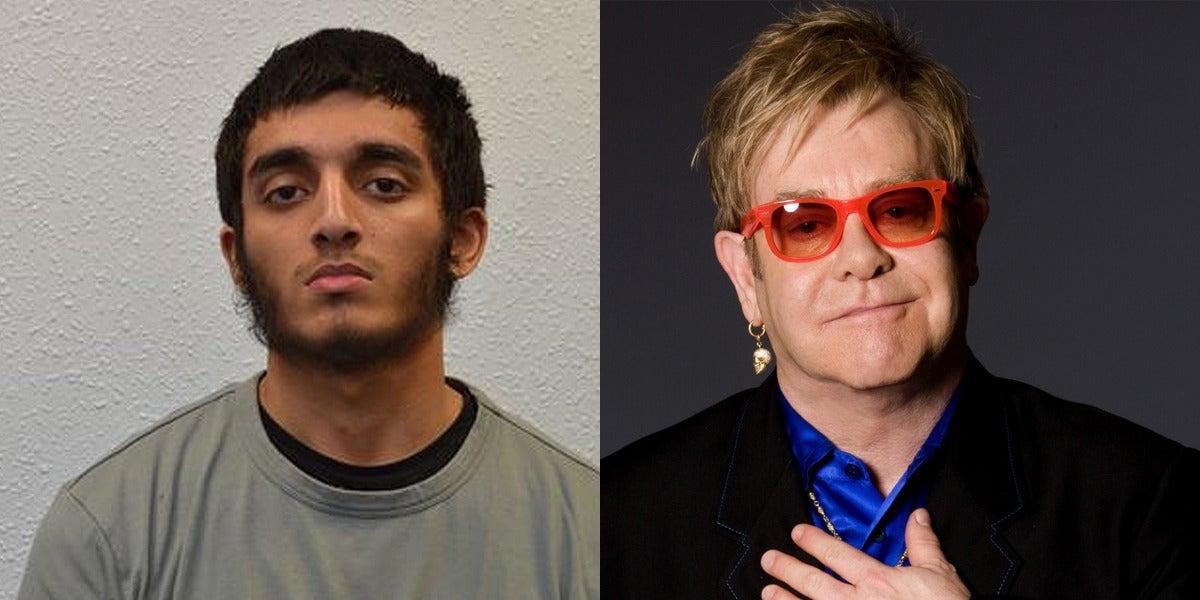 Haroon Syed planeó un atentado terrorista en el concierto de Elton John en Hyde Park