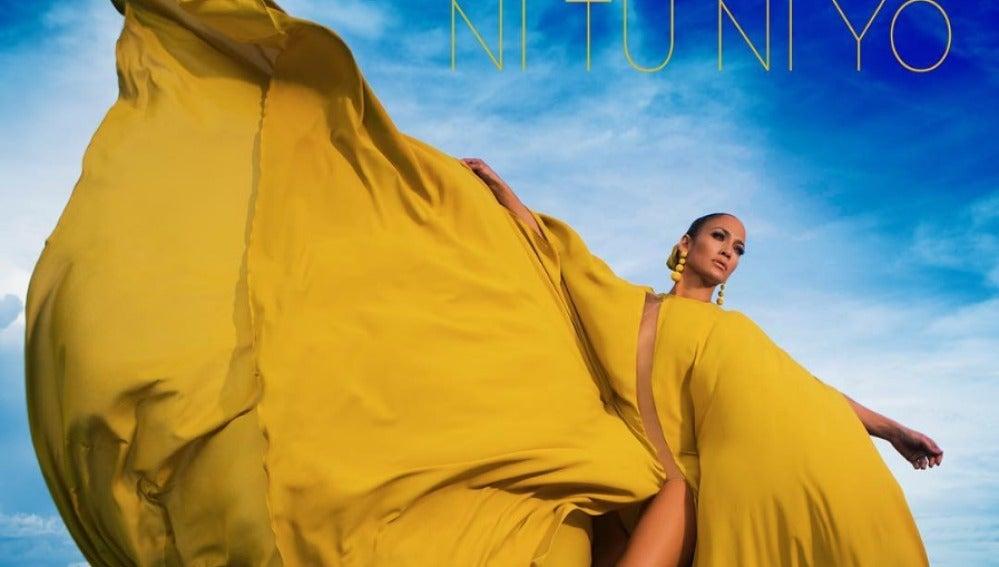 Portada del single 'Ni Tú Ni Yo', de Jennifer Lopez con Gente de Zona