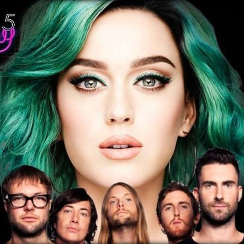Mashup: Katy Perry VS Maroon 5