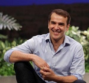 El actor Luis Merlo