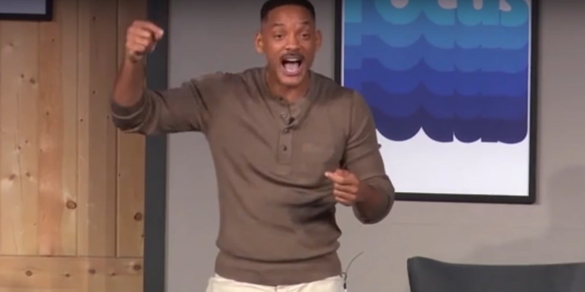 El Discurso De Vida De Will Smith Que Está Arrasando En La Red