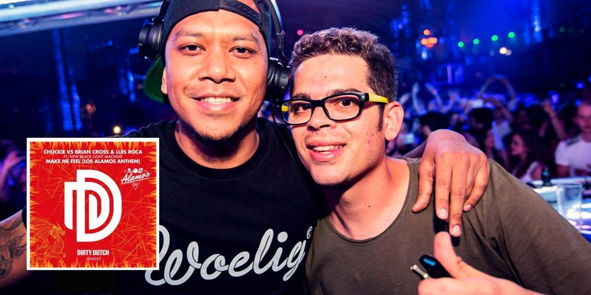 DJ Chuckie y Brian Cross