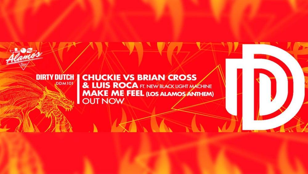 Chuckie ft. Brian Cross & Luis Roca presentan 'Make Me Feel'