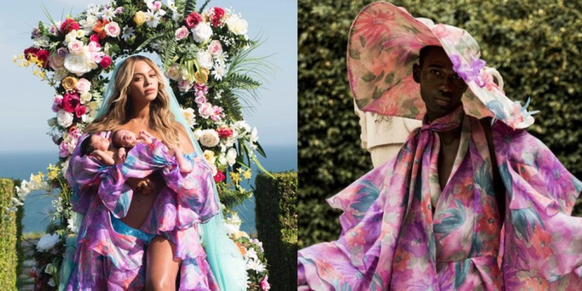 Beyoncé presenta a sus gemelos con una prenda de un diseñador cordobés