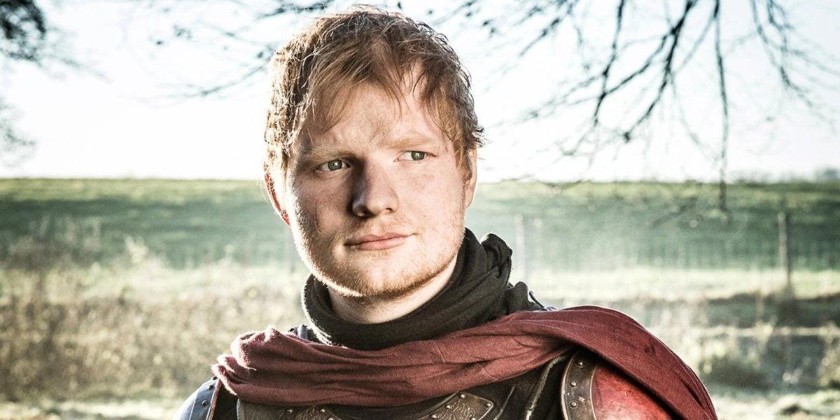 Ed Sheeran en 'Juego de Tronos'
