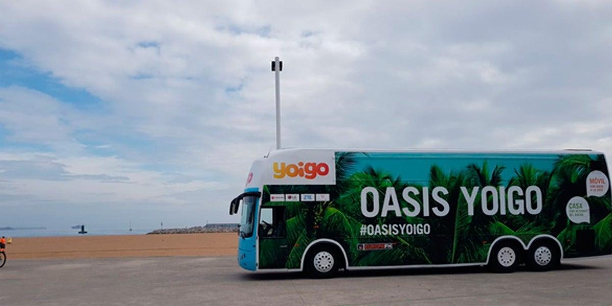 Autobús del #OasisYoigo