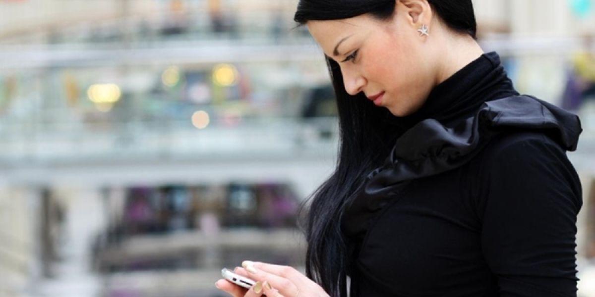 Papada por mirar mucho el móvil