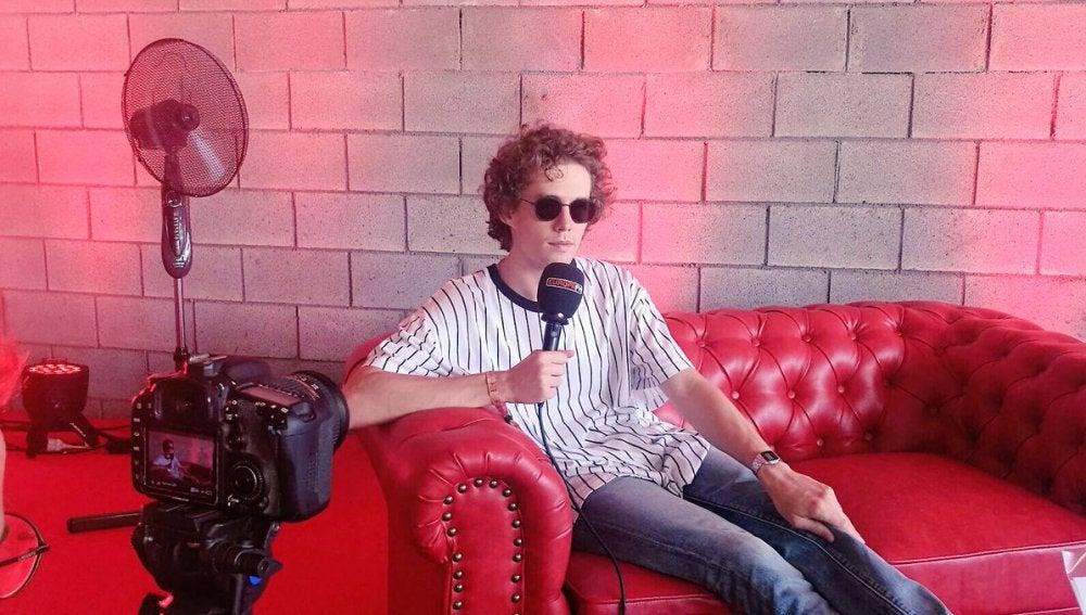 Durante la entrevista con Lost Frequencies