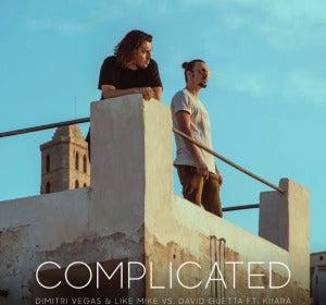 Dimitri Vegas & Like Mike junto a David Guetta y Kiiara presentan 'Complicated'