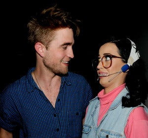 Katy Perry y Robert Pattinson