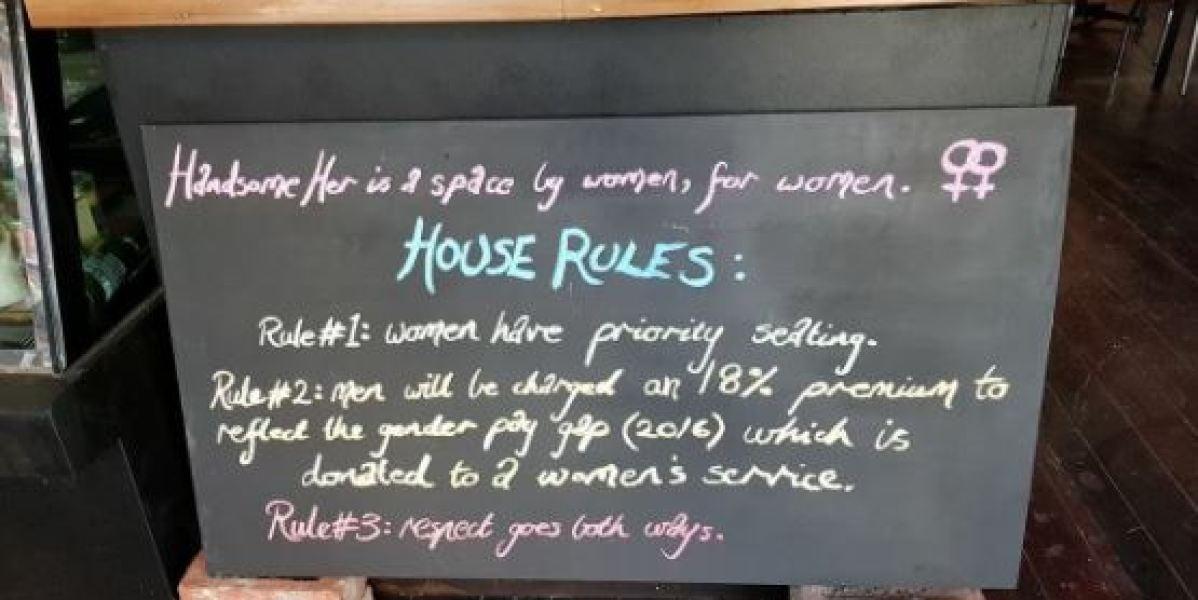 Reglas del bar 'Handsome Her'