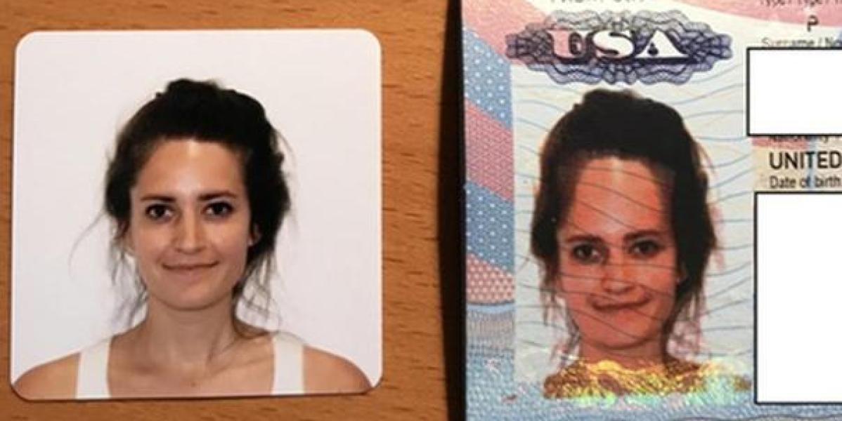 Salía tan deforme en su foto de pasaporte que se hizo viral y el departamento de estado decidió mandarle uno nuevo