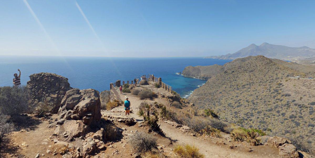 Isleta del Moro, en Níjar, Almería