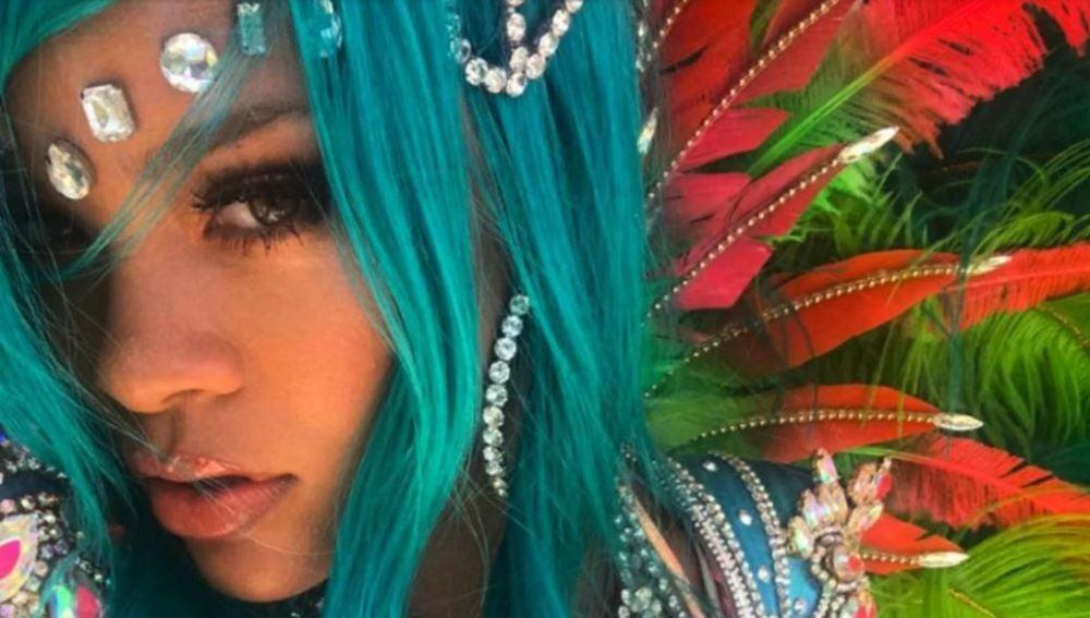 Rihanna en el Carnaval de Barbados