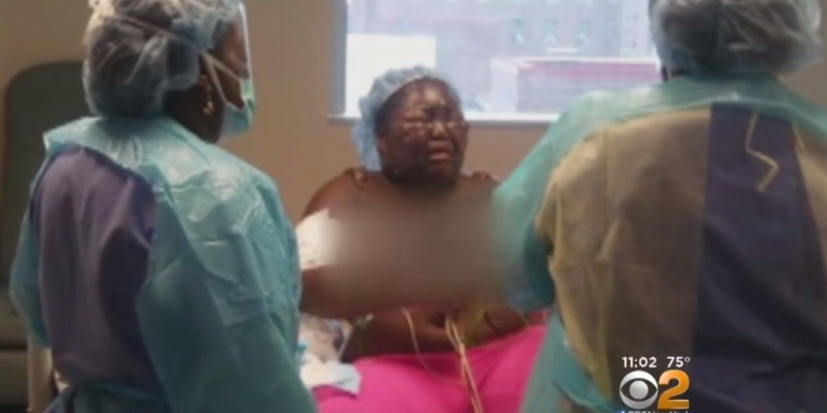 Jamoneisha Merritt, captura de un vídeo de CBS