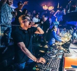 El DJ de Europa FM, Brian Cross