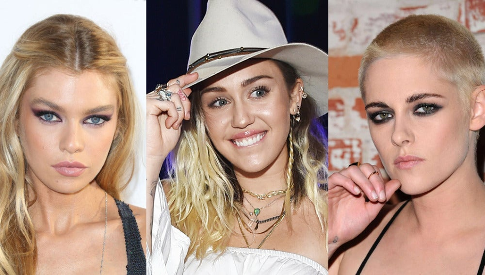 Filtran fotos de Miley Cyrus, Kristen Stewart y Stella Maxwell desnudas