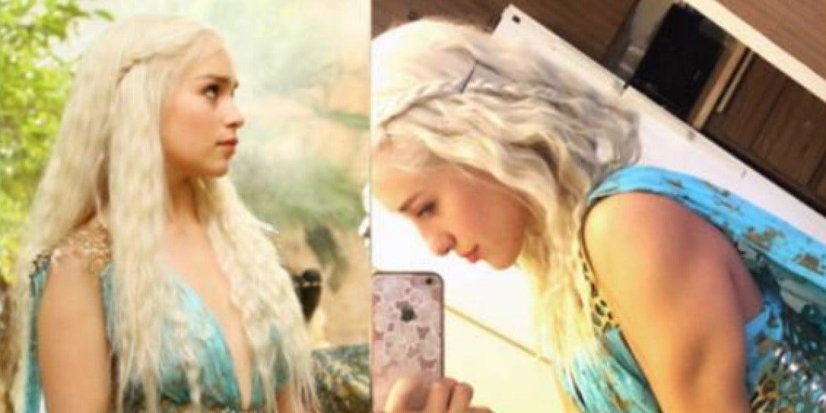 Swolessi, la doble de Daenerys Targaryen
