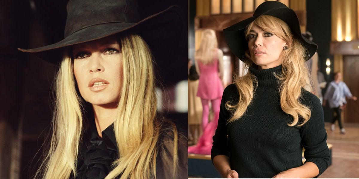 Patricia Conde como Brigitte Bardot