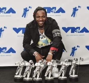 Kendrick Lamar, triunfador de los MTV VMAs 2017